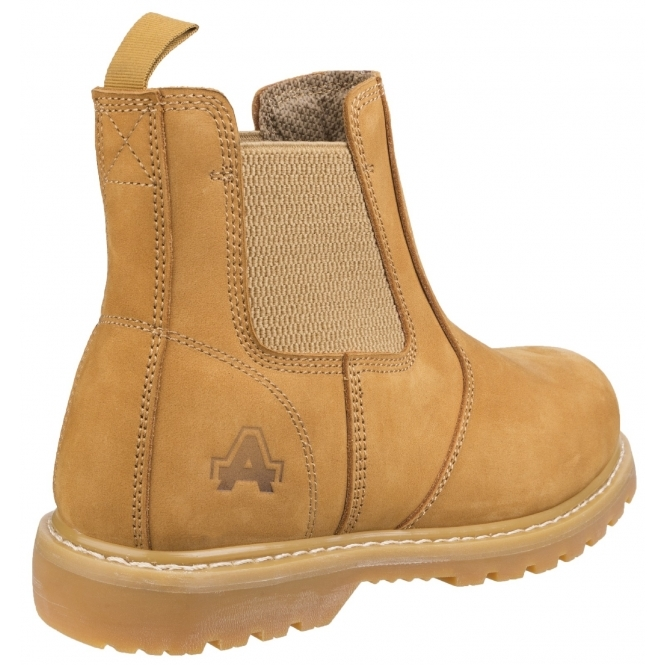 fc9253e43e0 Amblers Safety AS175 Mens Leather Safety Dealer Boots Honey