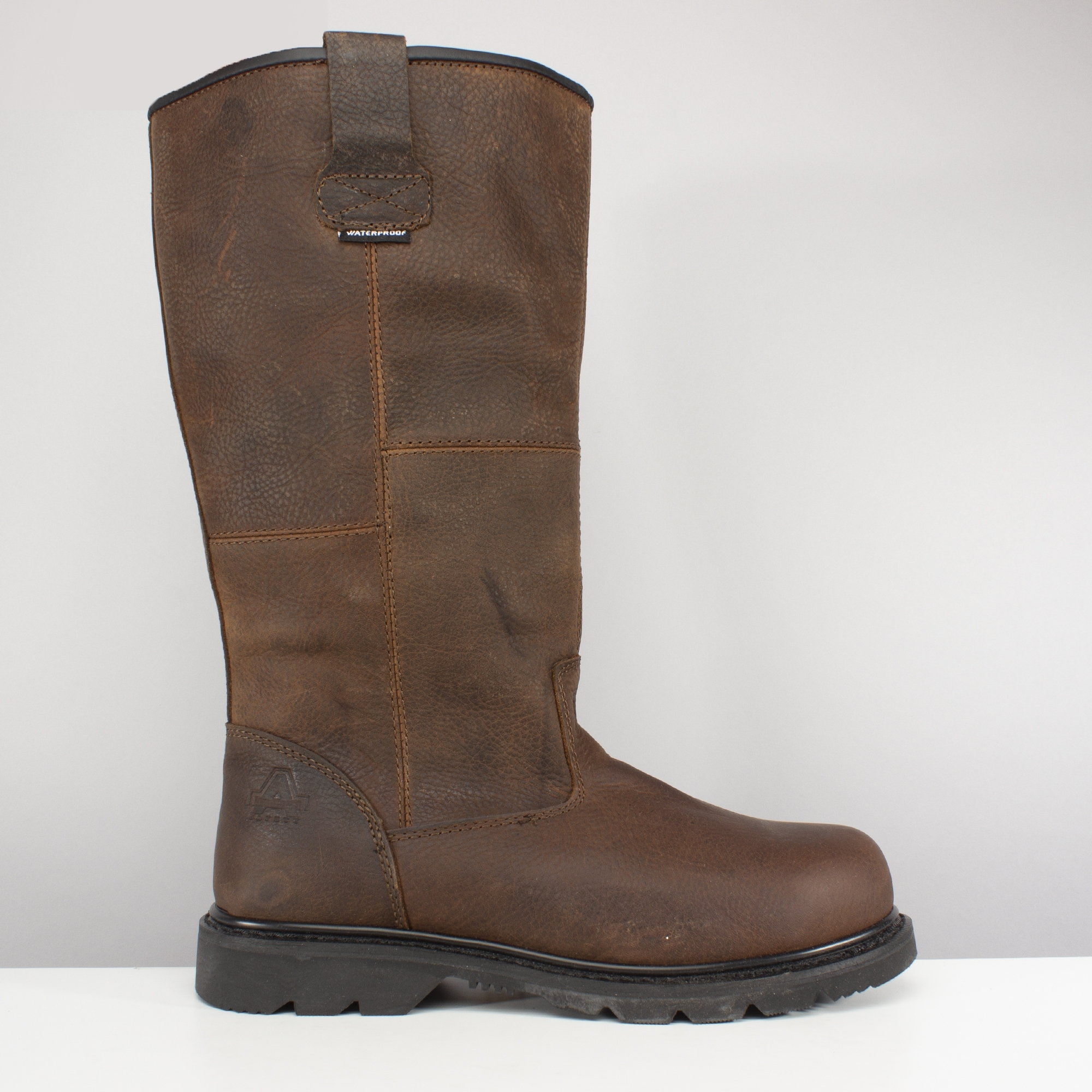Amblers Safety Mens Tan Dealer Chelsea Boot Tan Steel Various Size FS115