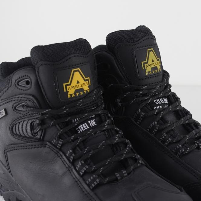 Amblers Mens FS190 Waterproof Steel Toe /& Midsole Safety Boot S3-SRC