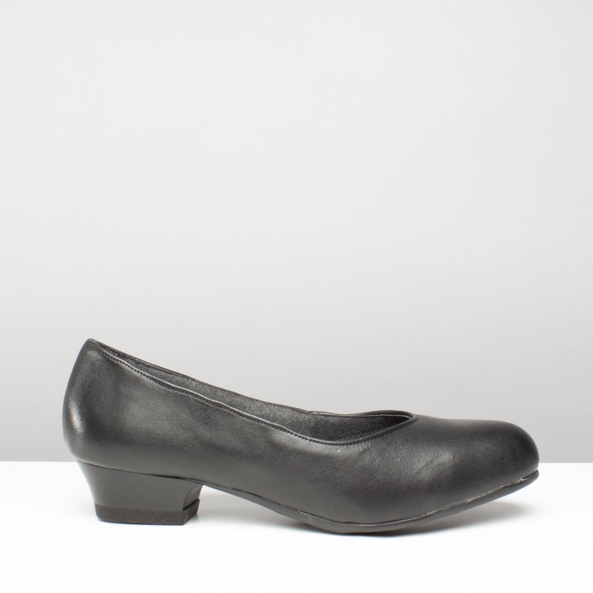 Steel FS96 Safety Work Court Shoe Black