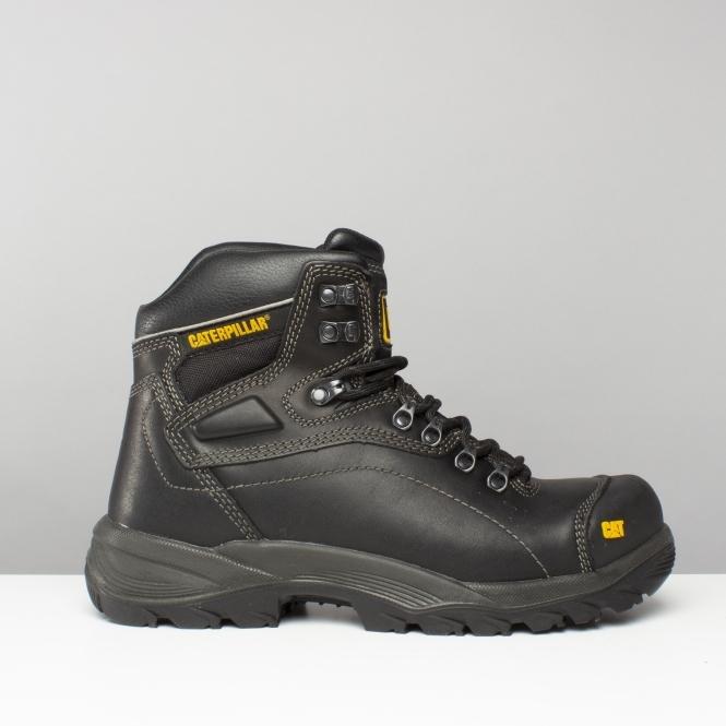 0ec253556 Cat ® DIAGNOSTIC Mens S3 HRO SRC Safety Boots Black