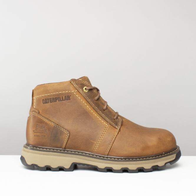 6f49493c779 Cat ® PARKER Mens Safety Boots Dark Beige