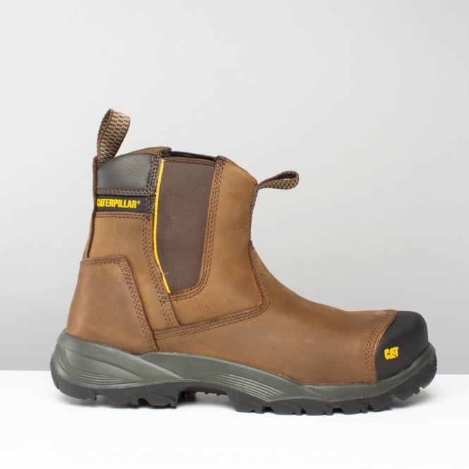 Safety Boots Brown | Steel Toe Boots