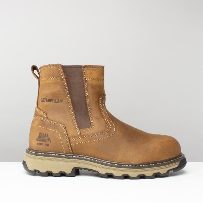 CAT ® PELTON Dealer Safety Boots Beige