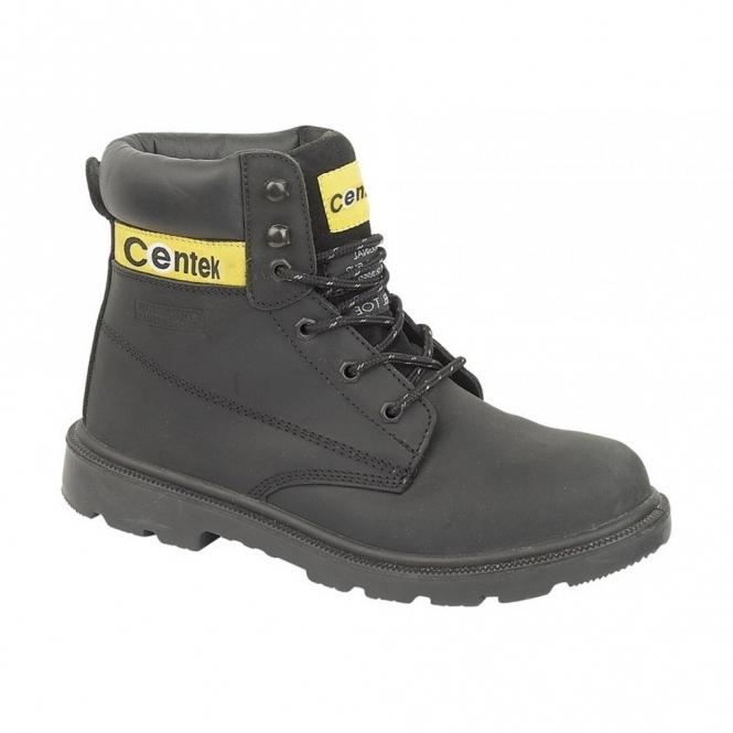 bff71313fac Centek FS239 Mens S3 SRC Safety Boots Black