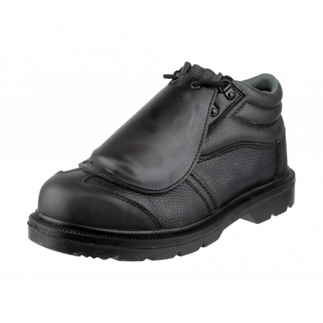 c4e75609326 FS333 METATARSAL Mens Leather Safety Boots Black