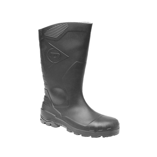 c1fc72bae74d Dunlop DEVON Unisex S5 Safety Wellington Boots Black