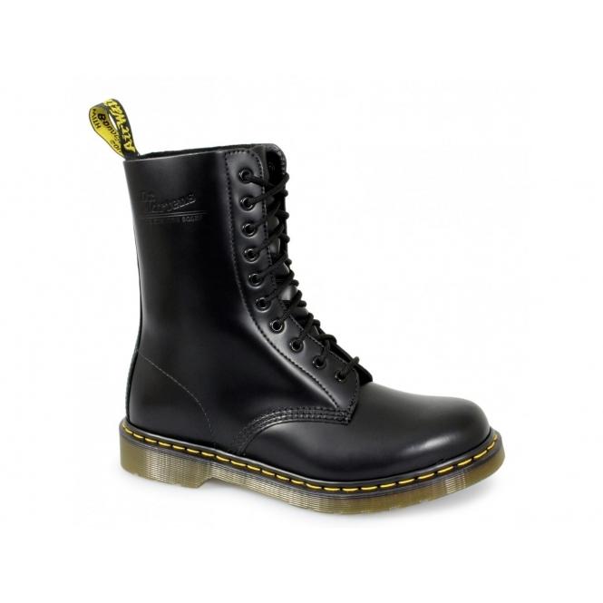 6c97166effe Dr Martens 1490z Unisex Classic Airwair 10 Eyelet Boots Black