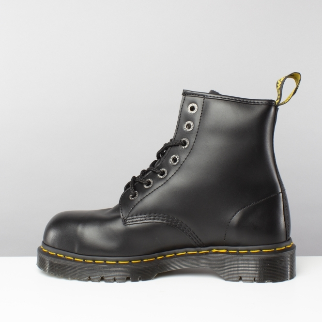 fa7c5ea4b4d Dr Martens ICON 7B10 SSF 7-EYE Unisex Leather Safety Boots Black
