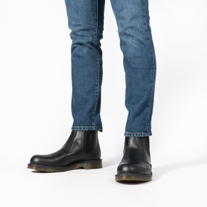 info for new style best sale OCCUPATIONAL 8250 Mens Leather Chelsea Boots Black