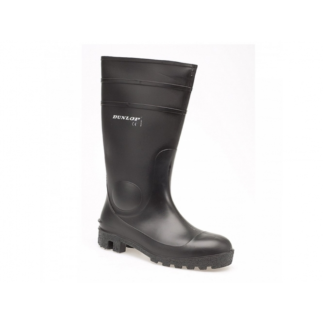 f2b0d6d861bd Dunlop PROTOMASTOR Safety Work Wellington Boots Black