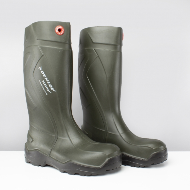 Wellies Dunlop White Waterproof Non Safety Wellington Boots