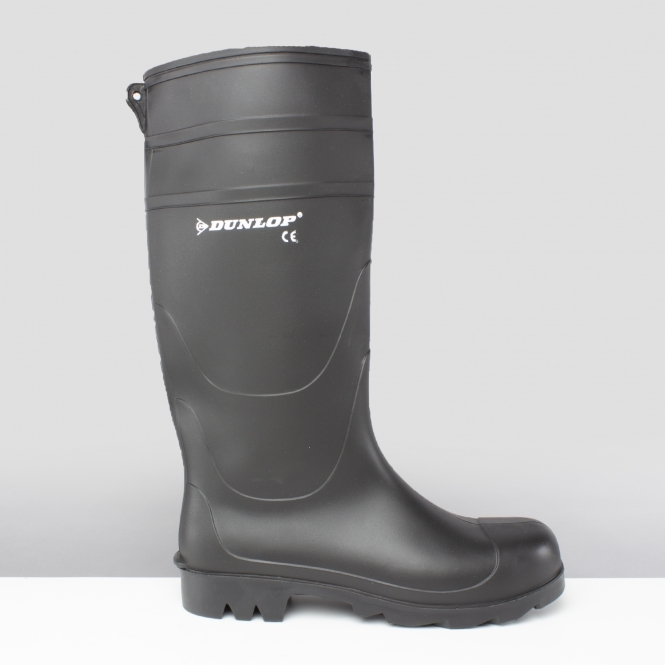 2109b3839a7 Dunlop UNIVERSAL Mens Non-Safety Wellington Boots Black