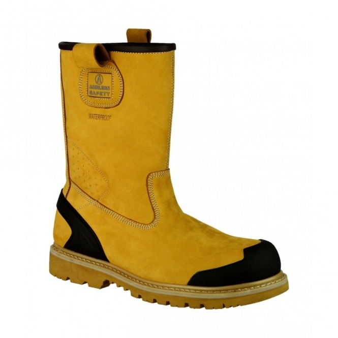 8599389eab6 Amblers Safety FS222C Waterproof Safety Rigger Boots Honey
