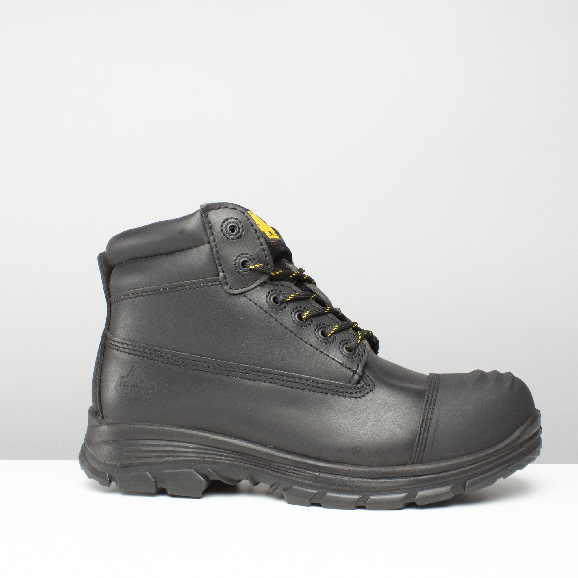 Amblers AS350C Berwyn S3 black metatarsal waterproof composite boot with midsole