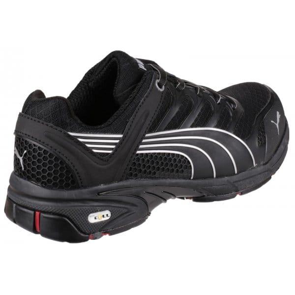 puma safety fuse motion mens s1 hro safety shoes black. Black Bedroom Furniture Sets. Home Design Ideas