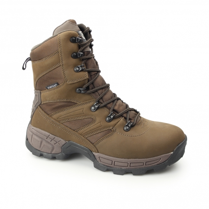 20c004d3eec99a Grafters WARRIOR Mens NON-SAFETY Leather Work Boots Brown SteelToeBoots