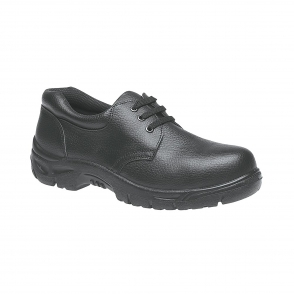 Grafters Uniform M9775A Leather Composite Non Metal Safety Gibson Uniform Shoes