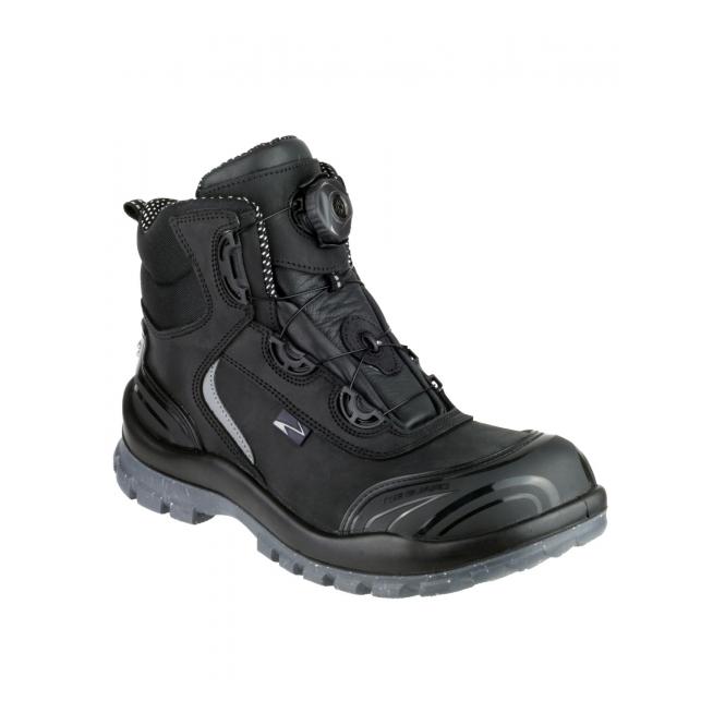 fe03dbde4 Pezzol MOONWALKER 911 Mens S3 HRO SRC Safety Boots Black