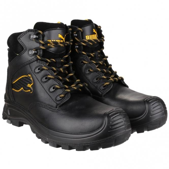 d2e4d0fc8 BORNEO MID 6304110 S3 Mens Safety Leather Boots Black