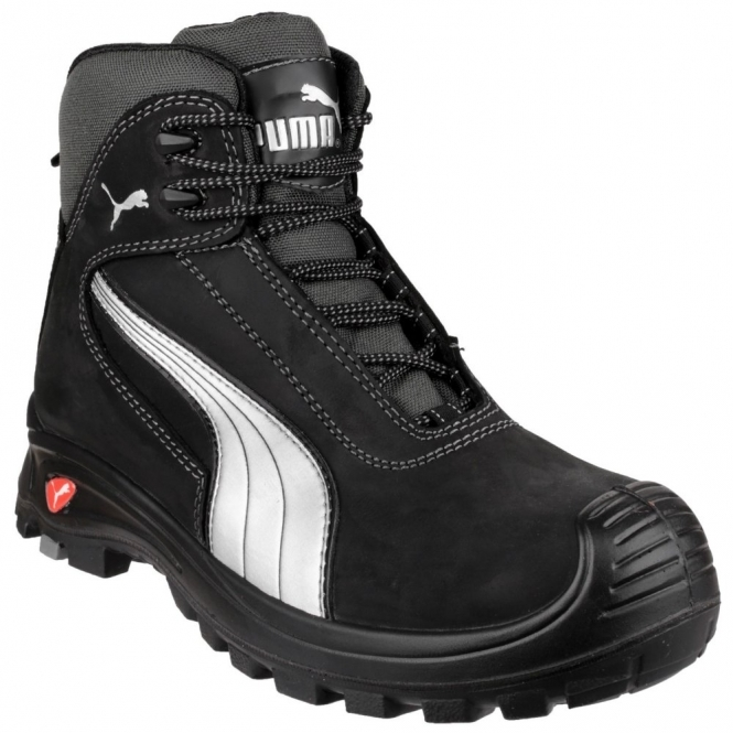a40fb5a9e96c CASCADE MID 630210 Mens Leather Safety Shoes Black