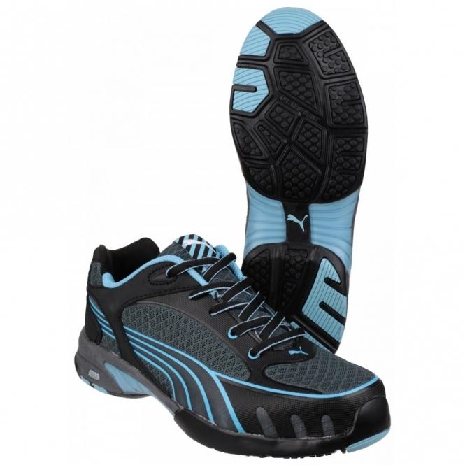 189af6968ff9c0 Puma Safety FUSE MOTION 642820 Ladies Safety Shoes Blue
