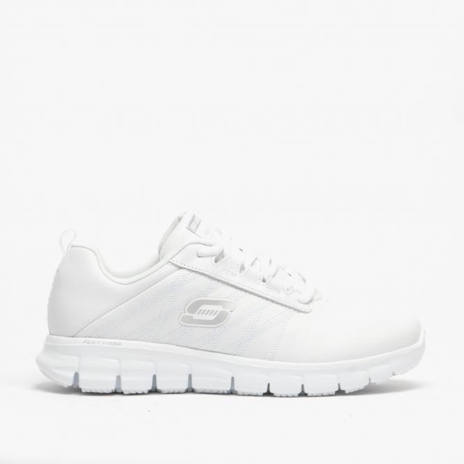 Ladies Anti-Slip Trainers White