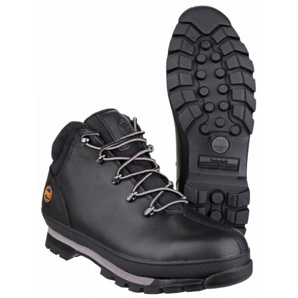 Timberland SPLIT ROCK PRO Mens S3 Safety Boots Black ...