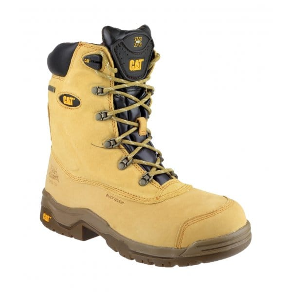 Caterpillar Supremacy Mens Safety Work Boots Honey | SteelToeBoots