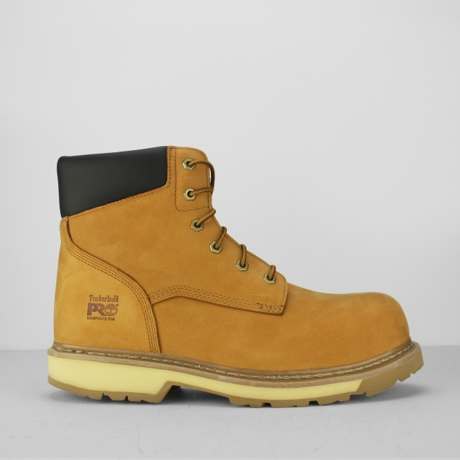 8cd6345ac39 Timberland Pro PRO TRADITIONAL Mens Non-Metal Safety Boots Wheat