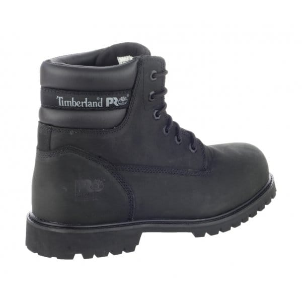 Timberland TRADITIONAL WIDE Mens S1 Safety Boots Black | SteelToeBoots